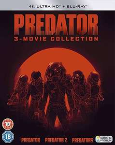 Predator Trilogy [4K UHD + Blu-ray] [2018] £24.99 @ Amazon