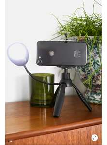 Smartphone Tripod With LED Light - £8 (+£3.99 Delivery) @ Urban Outfitters