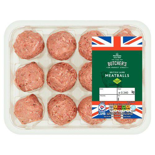 Morrisons Salt & Pepper Seasoned Lamb Meatballs 340g(£5.88 per kilo) - £2.00 @ Morrisons