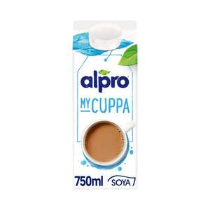 Alpro My Cuppa Soya Chilled Drink 750ml £1.25 @ Morrisons