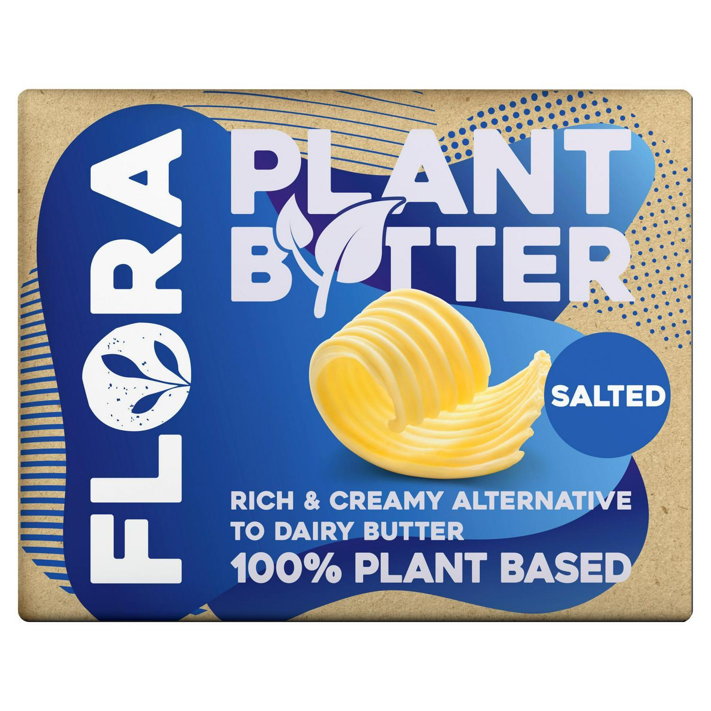 Flora Plant B+tter Salted Vegan Alternative to Butter 250g £1.50 @ Salisburys