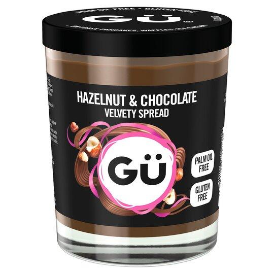 Gu Hazelnut & Chocolate Velvety Spread 200g - £2 (Clubcard) @ Tesco