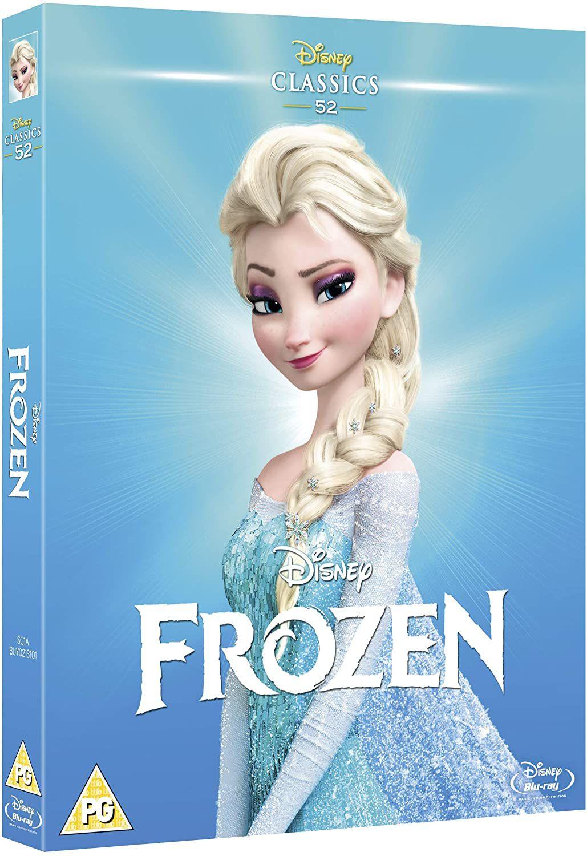 Frozen [Blu-ray] [Region Free] £3.51 (£2.99 p&p non prime) @ Amazon