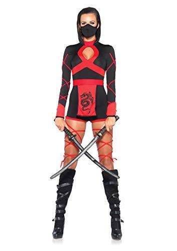 Leg Avenue Shadow Ninja Costume £15.47 (Prime) + £4.49 (non Prime) at Amazon