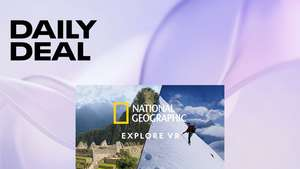 Oculus Deal of the Day - National Geographic Explore VR £5.99 @ Oculus Store