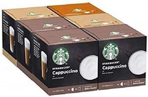 Starbucks Nescafe Dolce Gusto Variety White Cup Coffee Pods 3 lots 36 (108 Servings) (BBE 31 Jul 2020) £30 + £3 Delivery at Approved Food