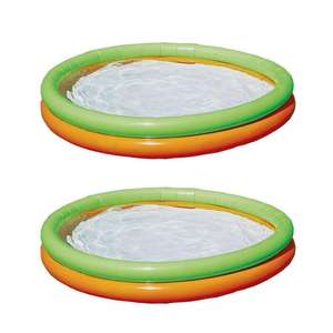 2 x Chad Valley 4.2ft 2 Ring Round Kids Paddling Pool £15 (Free Click & Collect) @ Argos