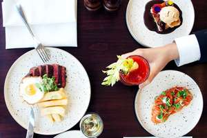 Two Course Brunch with Bottomless Fizz for Two at Amba Hotel Charing Cross London Now £36.75 with code @ Buyagift