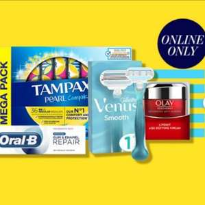 Buy Any 6 for £20 ( includes: Olay Regenerist £8.99, Pampers 4x50 wipes £5, & more) online only - Free click & collect @ Boots