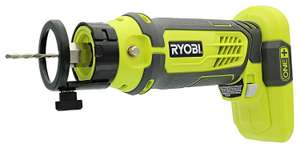 Ryobi P531 One+ 18V Cordless Speed Saw Rotary Cutter with Bits (Battery Not Included/Tool Only) £41.95 sold by Amazon US (UK mainland)