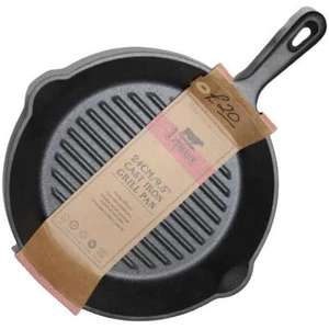 LEPICURE 24cm Cast Iron Grill Pan £12.99 + £1.99 Click + Collect @ TKMaxx