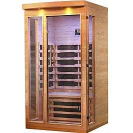 Canadian Spa Chilliwack 1 to 2 Person Far Infrared Home Indoor Sauna £1,165 Delivered (UK Mainland) at Robert Dyas