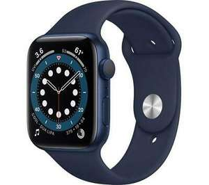 Damaged Box: APPLE Watch Series 6 - Blue Aluminium with Deep Navy Sports Band 40mm - Opened never used £287.93 @ Currys Clearance
