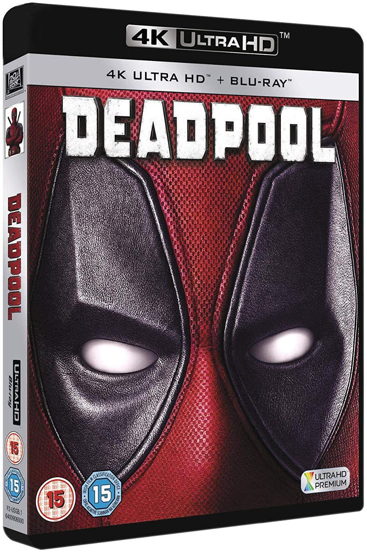 Deadpool 4k UHD [Blu-ray] [2016] £9.99 @ Amazon (£2.99 p&p non prime)