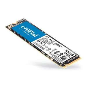Crucial P2 500GB M.2 NVMe PCIe SSD/Solid State Drive £43.95 delivered at AWD-IT