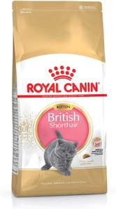 Royal Canin British Short Hair Kitten Complete Food 10Kg - £50 @ Amazon / Dispatched from and sold by Maltbys Stores.
