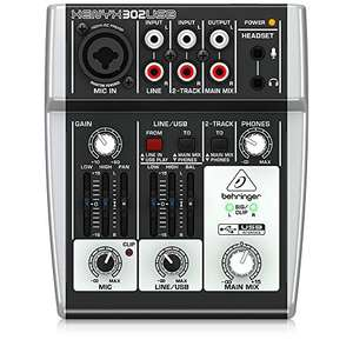 Behringer 302USB Xenyx 5 Input Mixer £24.34 @ Amazon