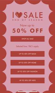 Cath Kidston - sale up to 50% off - Free delivery on orders over £40
