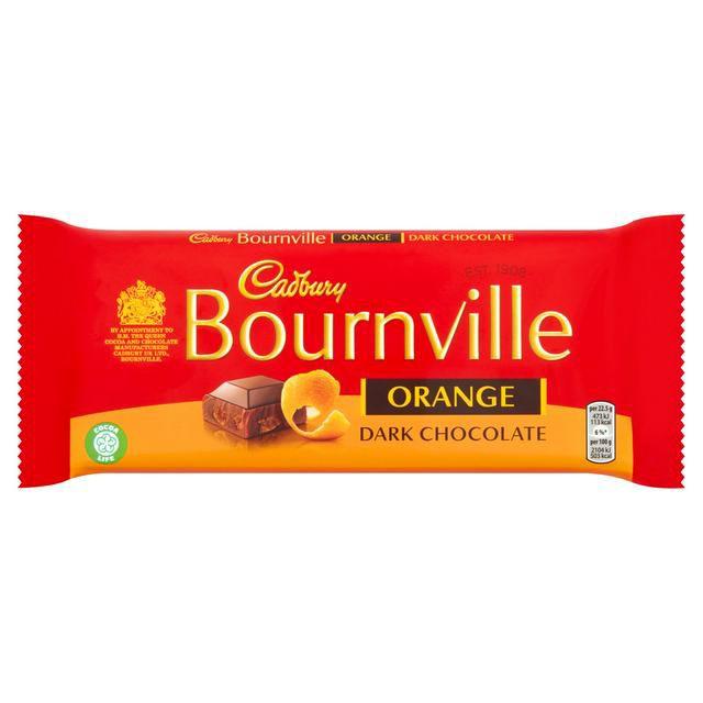 Cadbury Bournville Orange Dark Chocolate Bar 180g £1.50 @ Sainsbury's