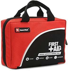 General Medi 160 Piece Premium First Aid Kit Bag - £9.99 Prime (+ £4.49 Non Prime) Sold by General Medika and Fulfilled by Amazon