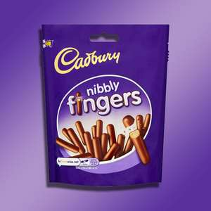 1 X Casbury Nibbly Fingers Mini Milk Chocolate Biscuits 125G Pack - £1 delivered @ Yankee Bundles