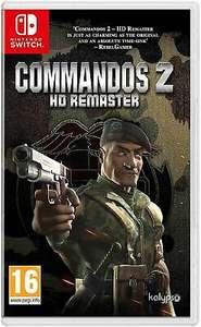 Commandos 2 HD Remaster (Nintendo Switch) £12.49 Prime (+£2.99 Non-Prime) @ Amazon