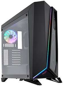 Corsair Carbide SPEC-OMEGA RGB Tempered Glass Mid-Tower ATX Gaming Case £65.12 delivered at Amazon