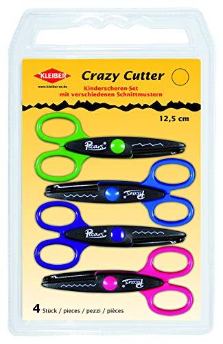 Kleiber 920-95 Childrens Crazy Cutter Scissors - 4 Pack £2.70 (Prime) + £4.49 (non Prime) at Amazon