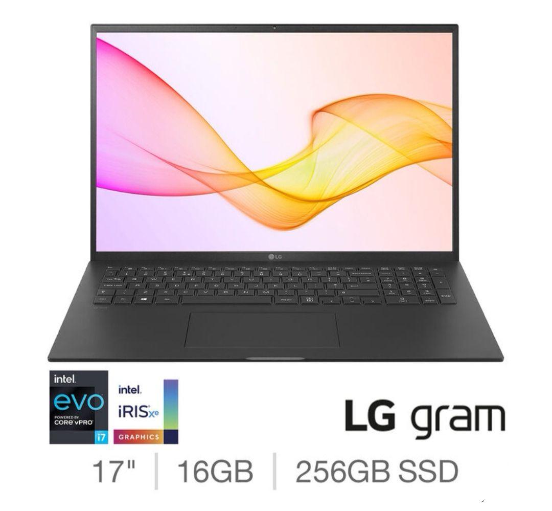 LG Gram, Intel Core i7, 16GB RAM, 256GB SSD, 17 Inch Ultra-Lightweight Laptop, 17Z90P-K.AA72A1 - £1099.99 (Membership Required) @ Costco