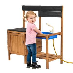 Mud Kitchen with Water Tap & Chalk Board £49.99 delivered @ Smyths Toys