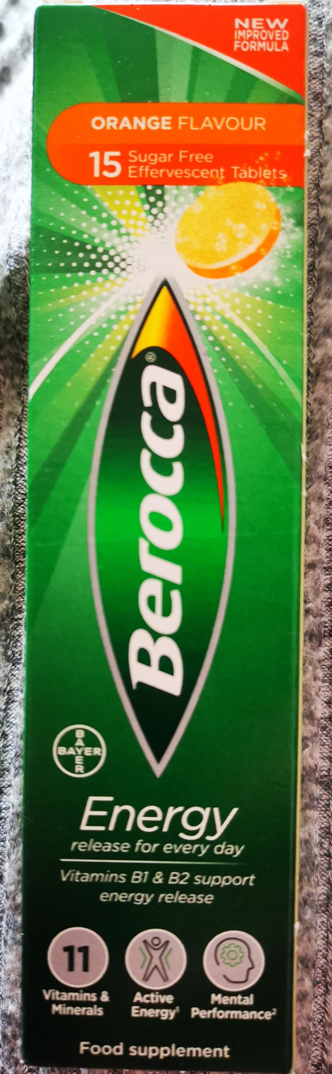 Berocca x 15 Orange Flavour Effervescent Tablets, £1 In Store @ OneBelow (Robroyston, Glasgow)