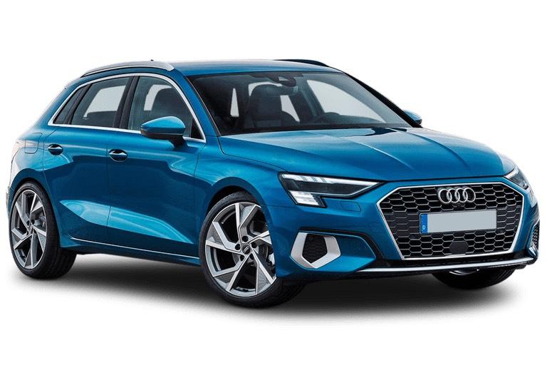 Audi A3 Sportback 40 TFSI e S line 5dr S Tronic / 5k miles £286.12 upfront + 35 x £286.12 a month via LeaseLoco