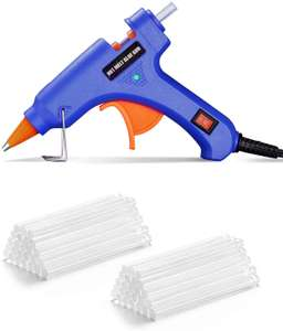 Wetopia Mini Hot Glue Gun with Sticks (50pcs 100mm), 20W - £4.99 (+£4.49 non prime) Sold by TOPELEK Direct EU and Fulfilled by Amazon