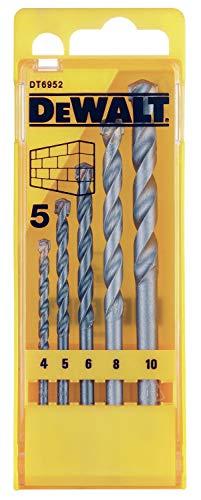 Dewalt masonry drill bit set 5pc £3.99 (+£4.49 p&p non prime) @ Amazon