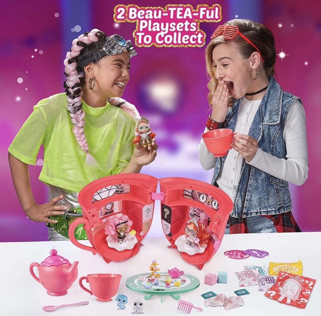 Itty Bitty Pretty Big Tea Cup Playset £14.99 (+£4.49 non-prime) @ Amazon