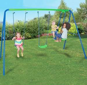 Kids Double Swing and Glider Set £64.95 Delivered From Studio