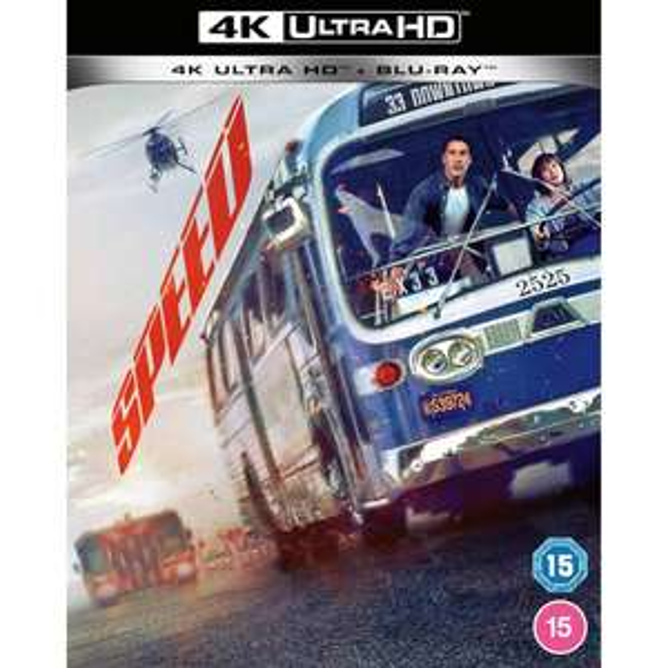 Speed 4K £14.99 (£13.49 for Red Carpet Members) @ Zavvi