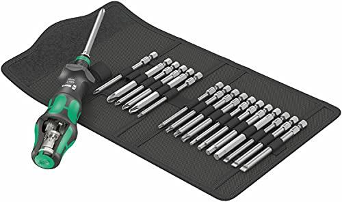 Wera 05057482001 Kraftform Kompakt Turbo 1 Gearbox Screwdriver Set, Set of 19 Pieces £77.44 @ Amazon