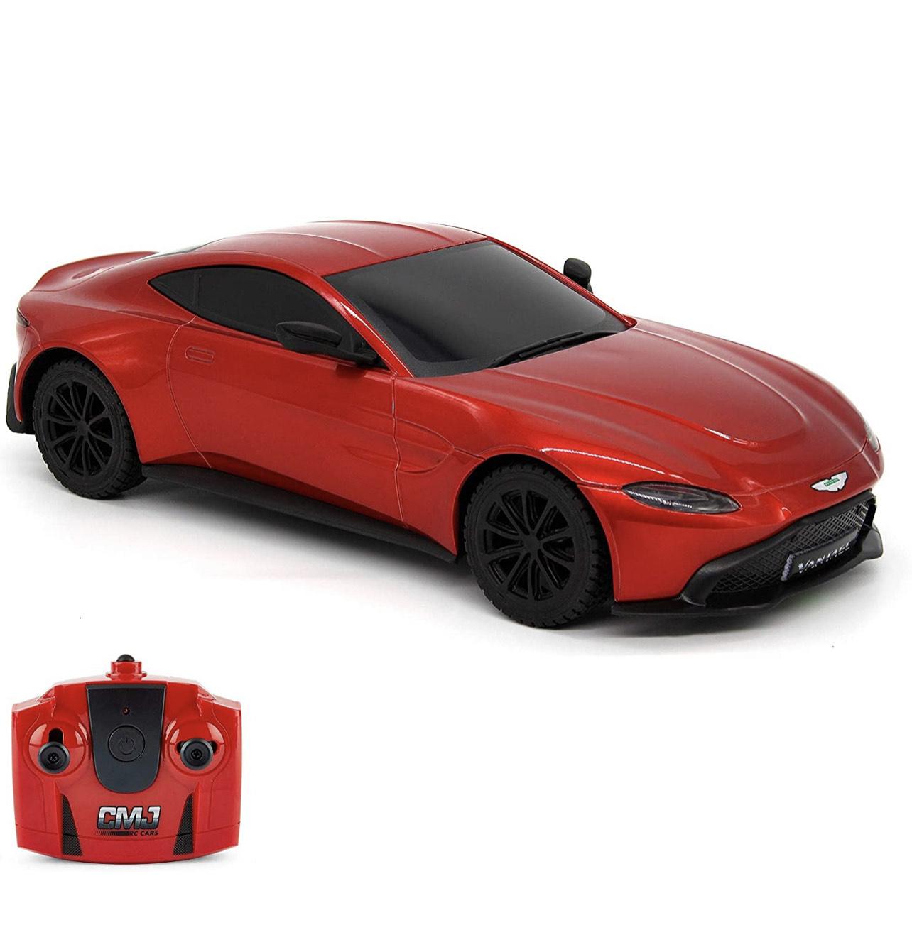 CMJ RC Cars™ Aston Martin Vantage Officially Licensed Remote Control Car. 1:24 Scale Red £7.98 (+£4.49 non-prime) @ Amazon