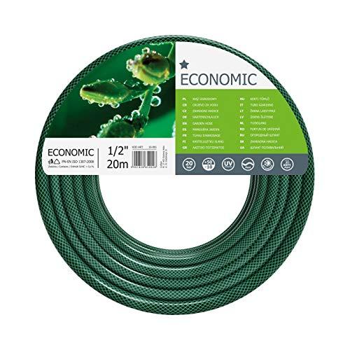 "Cellfast Garden Hose ECONOMIC 1/2"" 20 m, Flexible and Three-layer Hose, Resistance to UV - £5.36 (+£4.49 non Prime) @ Amazon"