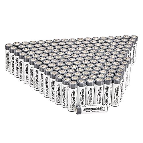 Amazonbasics 150 Pack AA Industrial Alkaline Batteries - £22.88 @ Amazon