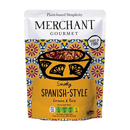 Merchant Gourmet Smoky Spanish Style Rice and Grains 250g- 85p (+£4.49 non-prime) @ Amazon