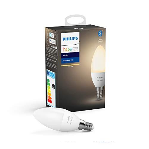 Philips Hue White Single Smart Candle Bulb LED [E14 Small Edison Screw] £10.10 (+£4.49 Non Prime) at Amazon
