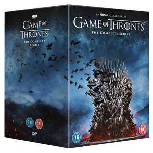 Game Of Thrones Season 1- 8 The Complete Series 38 Disc DVD Box Set - £40 (Min Basket / Delivery Charge Applies) at Tesco