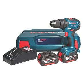 Bosch GSB 18 V-55 18V 4.0AH LI-ION Cool Pack Brushless Cordless Combi Drill - £149.99 @ Screwfix
