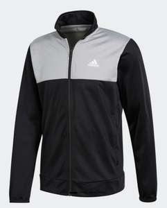 Adidas Back 2 Basics Tricot Tracksuit Top Jacket Size L Now £7.95 - Instore @ Adidas Outlet Castleford