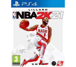 Playstation NBA 2K21 (PS4) - £9.97 delivered @ Currys PC World