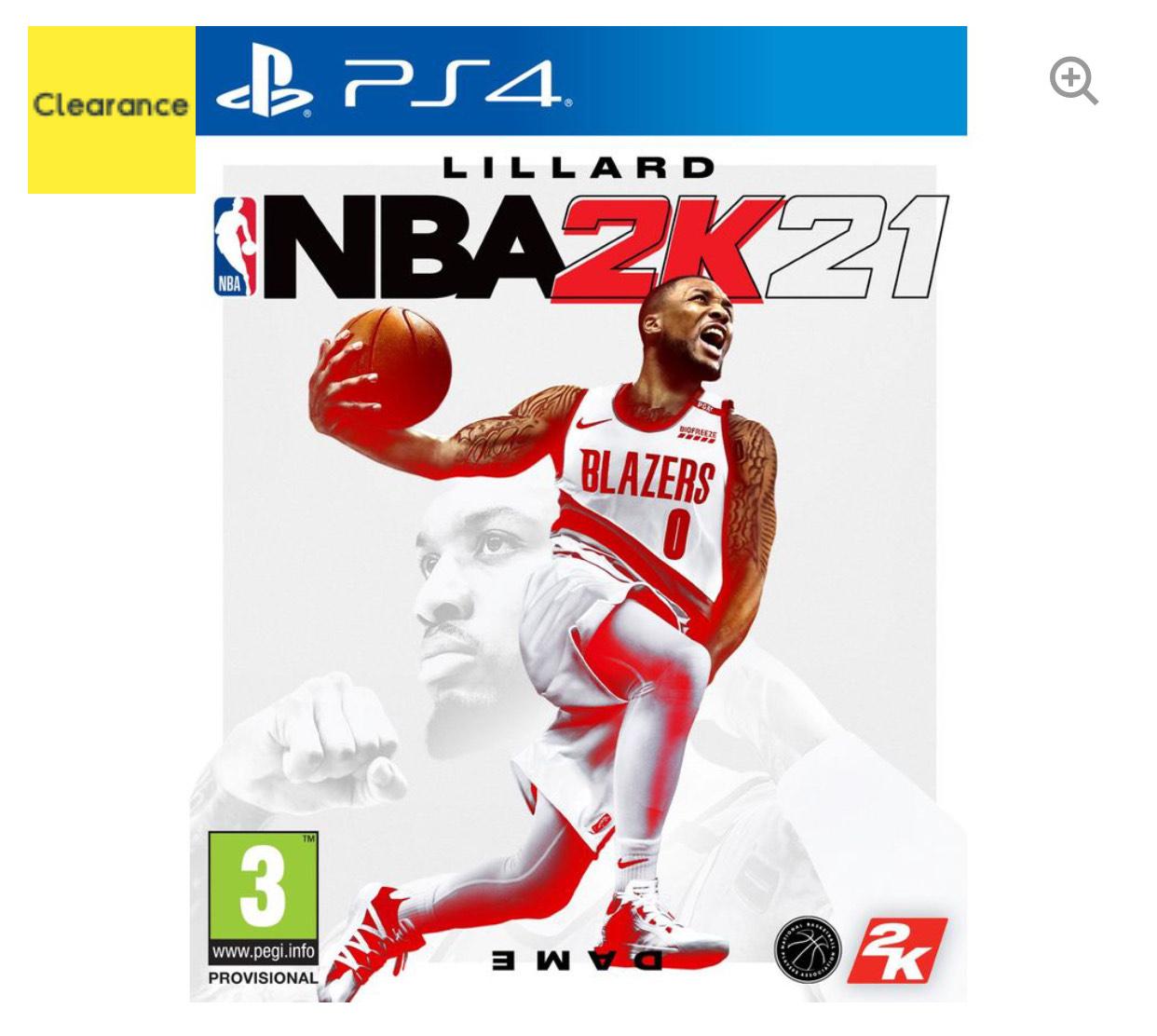NBA 2K21 for Sony PlayStation PS4 (UK Mainland) £9 @ AO