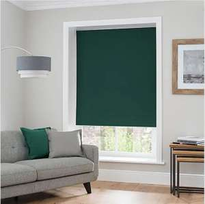 Luna Lagoon Thermal Blackout Roller Blind from £7 Click+Collect in Limited Stores @ Dunelm