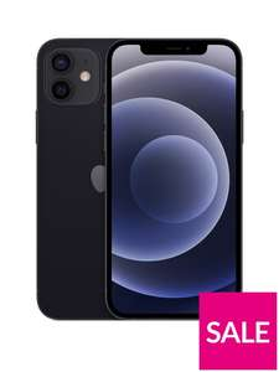 Iphone 12 black 64gb & 1 year Apple TV - £704 @ Very